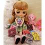 Diario Para Boneca Barbie Blythe * Caderno Miniatura Re-ment