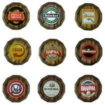 Monte Seu Kit - Tampa De Barril C/ Moldura - Cerveja -wiskey