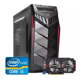 Pc Gamer Core I3 + Rx 550 2gb + 8gb Memória +500gb Barato