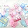 60 Pezinhos Sabonete (30 Pares) Azul Rosa Lembrancinha Bebê Original