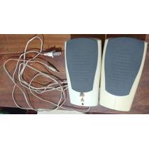 Caixa De Som Branca P2 Para Pc Satellite