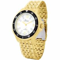 Relógio Masculino Condor Dourado Original