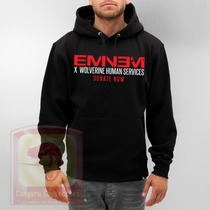 Blusa Eminem Donate Now Moletom Canguru - Promoção !