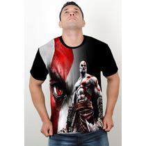 Camisetas Super Heróis Academia God Of War Dry Fit