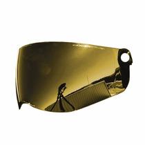 Viseira Colorida Capacete Th1 Vision Pro Tork Dourada