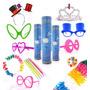 produto Kit Festa-neon+pluminhas+tiaras+gravatas+óculos+máscaras+fr.