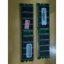 Kit Com 2 Memorias Ddr1 Dim 400 Mhz