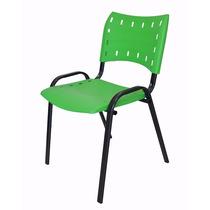 Cadeira Plastica Empilhavel - Verde