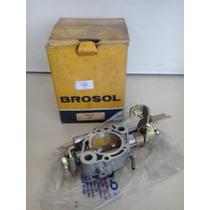 Base Carburador Monza Simples Gasolina Solex Brosol