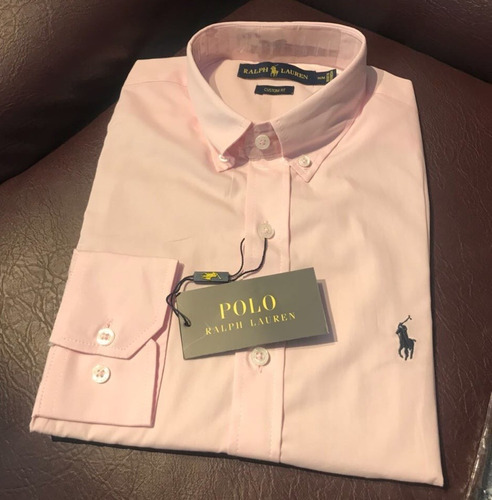0c0465be90c61 Camisa Social Polo Ralph Lauren Masculina Ralph Várias Cores. Preço  R  169  9 Veja MercadoLibre