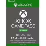 Game Pass Ultimate 12 Meses  Código 25 Dígitos