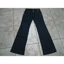 Calça Jeans Feminina Boca Sino 38 - Nova
