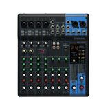 Mesa De Som Analógica 10 Canais 4 Entradas Mic Mg10xu Yamaha