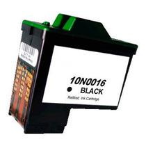 Cartucho Tinta Compatível Lexmark 10n0016 9ml Preto - X1250