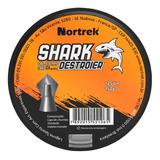 Chumbinho Nortrek Shark 5,5mm C/125 Un Tipo Bolt Destruição
