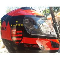 Capacete Jd2 Flamengo Helmets