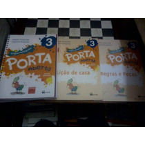 Livro - Porta Aberta Português 3 [do Aluno] - Frete 10,00