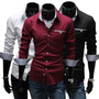 Camisa Social Masculina Md Slim Fit Nacional Pronta Entrega