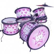 Bateria Infantil Luen Percussion - Cat - Maxcomp Musical