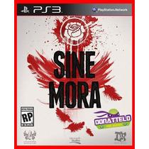 Sine Mora Ps3 Cód.psn Play 3 Jogo Acao Tiro Em Ptbr