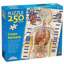 Puzzle 250 Peças Corpo Humano