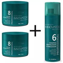 6f3793d1a Escova Nutrilipidica Innovator 500g Nº 8 + Shampoo De Brinde