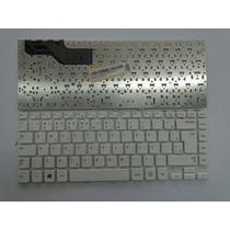Teclado Samsung Np270e4e Np275e4e Sem Frame Branco