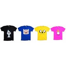 Combo - 4 Camisetas Hora De Aventura Adulto