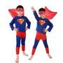 Fantasia Infantil Superman Super Homem - Promoção