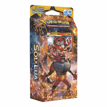 Pokémon Tcg: Deck Sm1 Sol E Lua Rugido Ardente | Incineroar