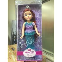 Boneca Princesa Ariel Princess And Me - Ed. Esp. - Long Jump