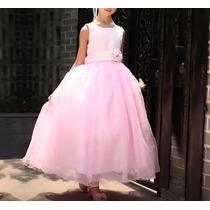 Vestido Infantil Criança Festa Longo Daminha Casamento