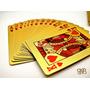 Baralho Folheado Ouro 24k Poker Canastra Buraco Blackjack
