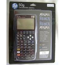 Calculadora Gráfica Hp 50g Original Capa Protetora Lacrada!