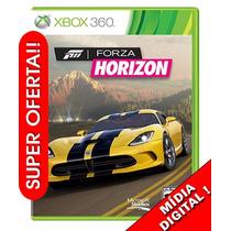 Forza Horizon Xbox 360 Em Português Código Mídia Digital