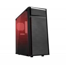Gabinete Gamer Bluecase Bg015 Com 05 Coolers De Led + Nf