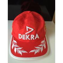 Boné Ferrari Michael Schumacher Collection Dekra