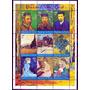 Selos Tchad 2001 Quadros Vincent Van Gogh Arte Impressionist