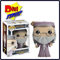 Funko Pop! Harry Potter - Dumbledore Com Varinha E Harry