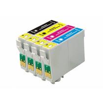 Kit Cartucho Compativel Epson T1381 /t1382 /t1383 /t1384 C/4