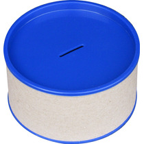 10 Cofres Cofrinho 7x14 Para Personalizar - Tampa Azul Royal
