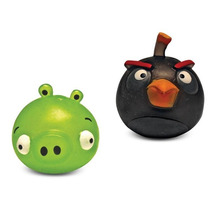 Angry Birds Macios Mashems Black Bird E Pig Dtc