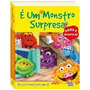 Livro Infantil Bichos Divertidos 3d - É Um Monstro Surpresa