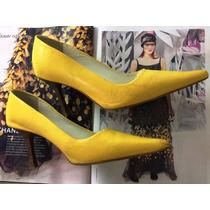 (promoção) Lindo Scarpin Amarelo #melissa #schutz #arezzo