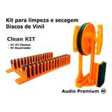 Máquina Limp Discos Vinil -vil Cleaner + Escorredor Er Pires