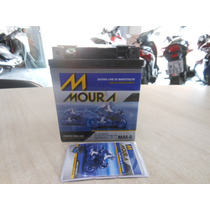 Bateria Moto Moura 6ah Twister/tornado/falcon/cb300 (selada)