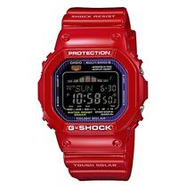 Relogio Casio G-shock Gwx-5600c Vermelho Original Em 12x S/j