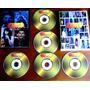 5 Dvd - Globo De Ouro (banda Reflexus, Chiclete Com Banana)