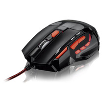Mouse Gamer Fire Button 7 Botões 2400 Dpi Multilaser Mo236