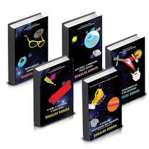 Coleção Guia Do Mochileiro Das Galáxias (5 Livros) #